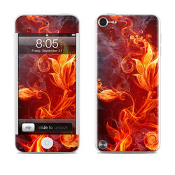 iPod Touch 5G Skin - Flower Of Fire