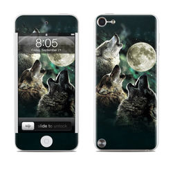 iPod Touch 5G Skin - Three Wolf Moon