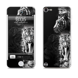 iPod Touch 5G Skin - White Tiger