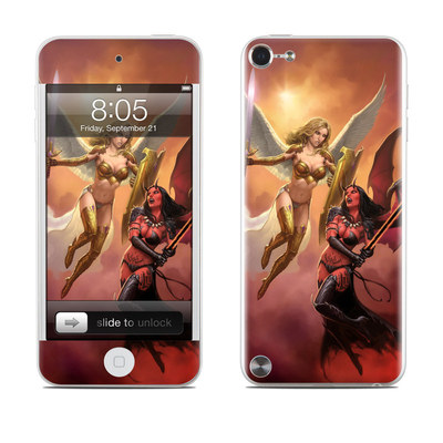 iPod Touch 5G Skin - Angel vs Demon