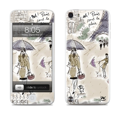 iPod Touch 5G Skin - Ah Paris