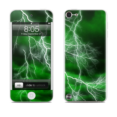 iPod Touch 5G Skin - Apocalypse Green