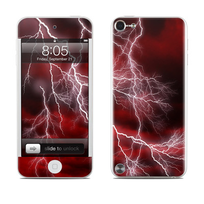 iPod Touch 5G Skin - Apocalypse Red