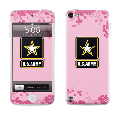 iPod Touch 5G Skin - Army Pink