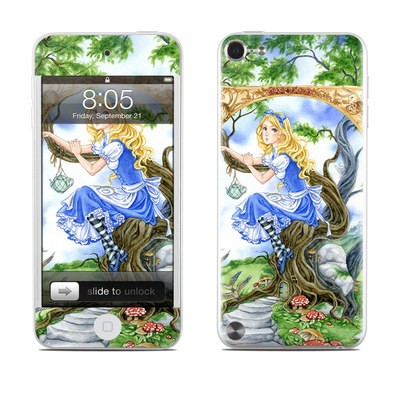 iPod Touch 5G Skin - Alice's Tea Time