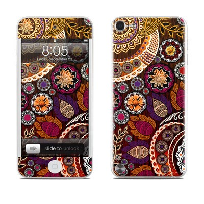 iPod Touch 5G Skin - Autumn Mehndi