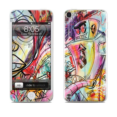 iPod Touch 5G Skin - Battery Acid Meltdown