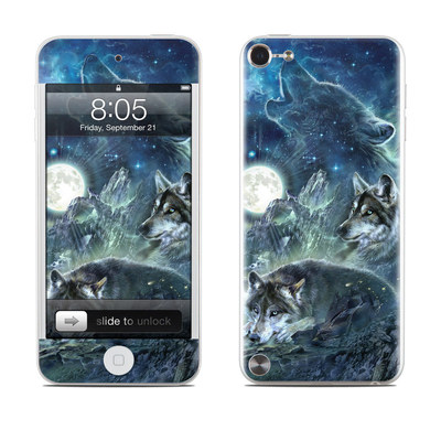 iPod Touch 5G Skin - Bark At The Moon