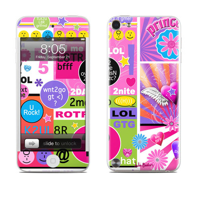 iPod Touch 5G Skin - BFF Girl Talk