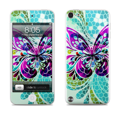 iPod Touch 5G Skin - Butterfly Glass