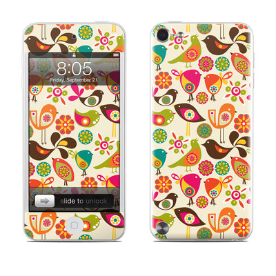 iPod Touch 5G Skin - Bird Flowers