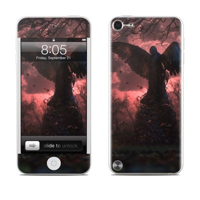 iPod Touch 5G Skin - Black Angel