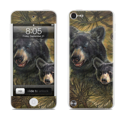iPod Touch 5G Skin - Black Bears