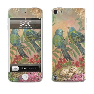 iPod Touch 5G Skin - Splendid Botanical