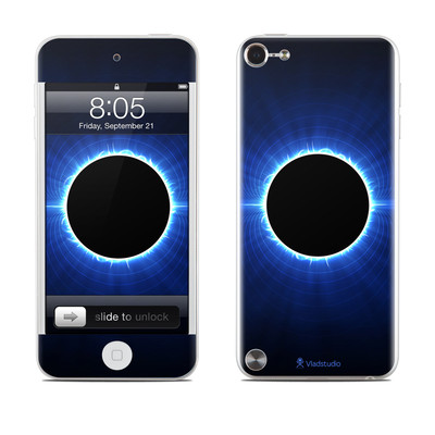 iPod Touch 5G Skin - Blue Star Eclipse