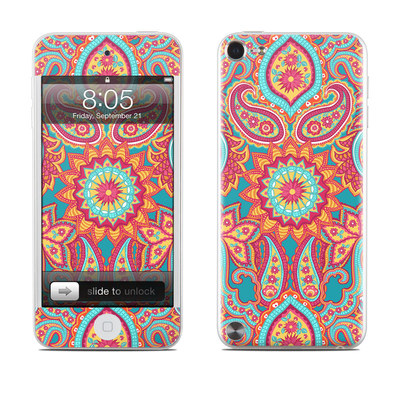 iPod Touch 5G Skin - Carnival Paisley