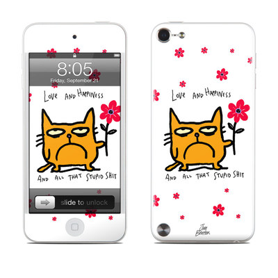 iPod Touch 5G Skin - Catwad Happy