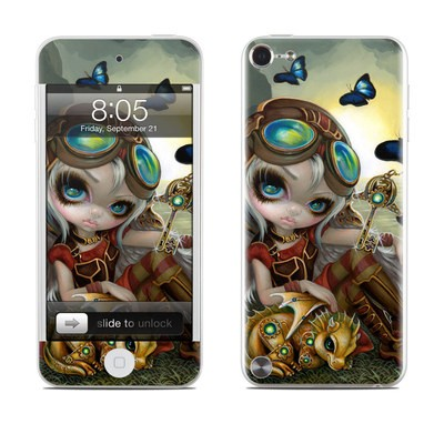 iPod Touch 5G Skin - Clockwork Dragonling
