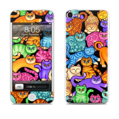 iPod Touch 5G Skin - Colorful Kittens