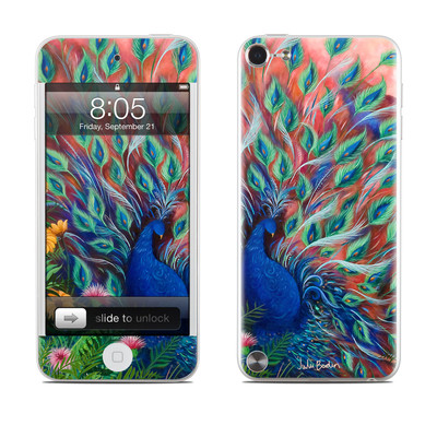 iPod Touch 5G Skin - Coral Peacock