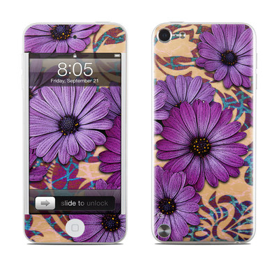 iPod Touch 5G Skin - Daisy Damask
