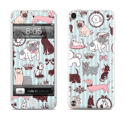 iPod Touch 5G Skin - Doggy Boudoir