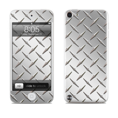 iPod Touch 5G Skin - Diamond Plate