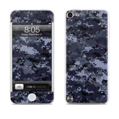 iPod Touch 5G Skin - Digital Navy Camo