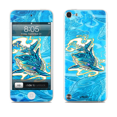 iPod Touch 5G Skin - Dolphin Daydream
