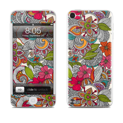 iPod Touch 5G Skin - Doodles Color