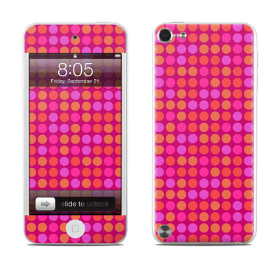 iPod Touch 5G Skin - Dots Pink