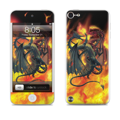 iPod Touch 5G Skin - Dragon Wars