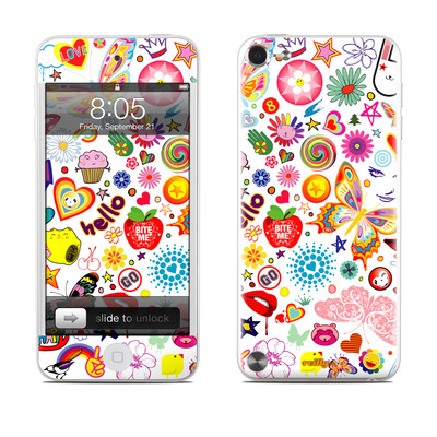 iPod Touch 5G Skin - Eye Candy