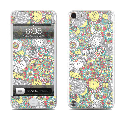 iPod Touch 5G Skin - Faded Floral