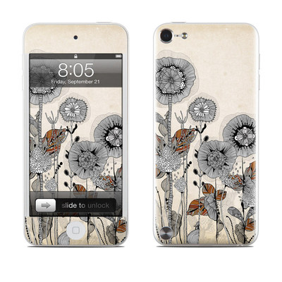 iPod Touch 5G Skin - Four Flowers