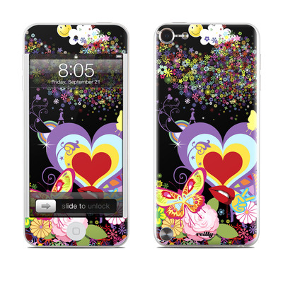 iPod Touch 5G Skin - Flower Cloud