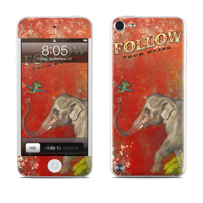iPod Touch 5G Skin - Follow Your Bliss