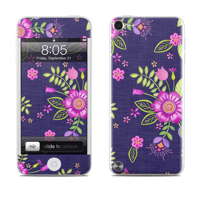 iPod Touch 5G Skin - Folk Floral