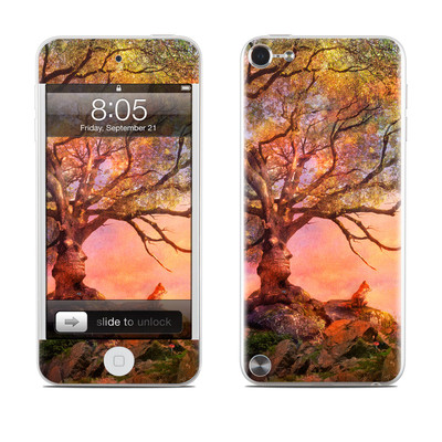 iPod Touch 5G Skin - Fox Sunset