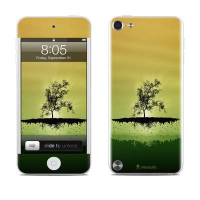 iPod Touch 5G Skin - Flying Tree Amber