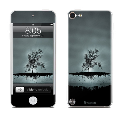 iPod Touch 5G Skin - Flying Tree Black