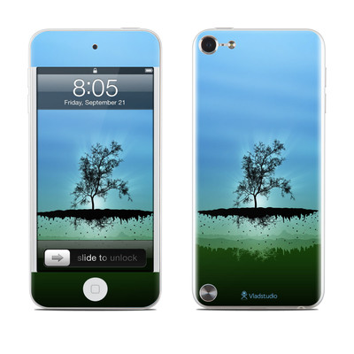 iPod Touch 5G Skin - Flying Tree Blue