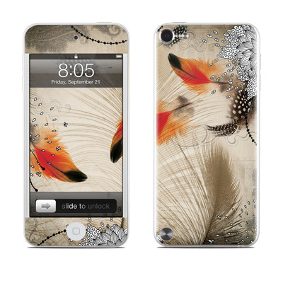 iPod Touch 5G Skin - Feather Dance