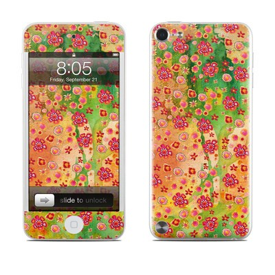 iPod Touch 5G Skin - Garden Flowers