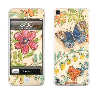 iPod Touch 5G Skin - Garden Scroll