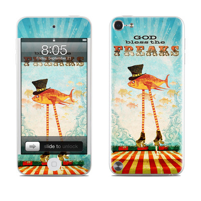 iPod Touch 5G Skin - God Bless The Freaks