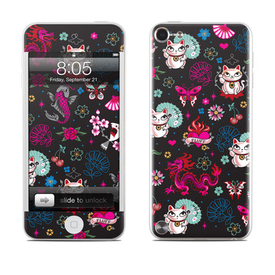 iPod Touch 5G Skin - Geisha Kitty
