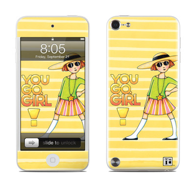iPod Touch 5G Skin - You Go Girl
