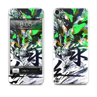 iPod Touch 5G Skin - Green 1