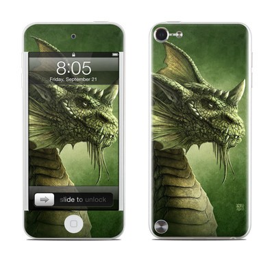 iPod Touch 5G Skin - Green Dragon